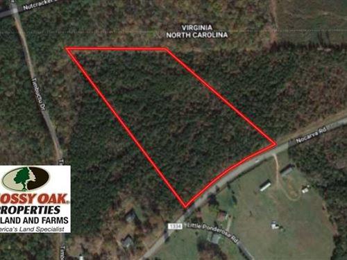 Reduced, 11.63 Acres of Recreatio : Macon : Warren County : North Carolina