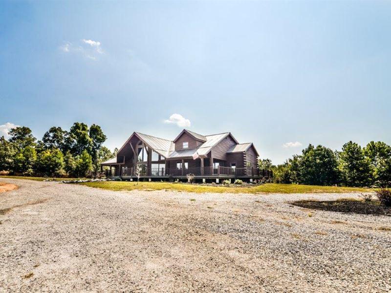 Log Home Of Your Dreams : Meherrin : Prince Edward County : Virginia