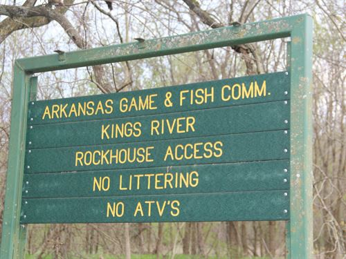 Land Near The Kings River-17 ac : Eureka Springs : Madison County : Arkansas