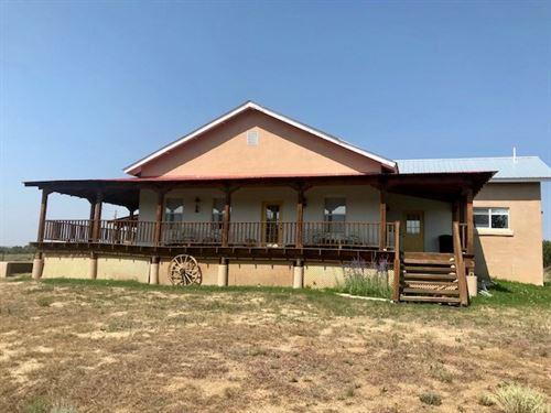 Northern NM Home Heron, El Vado : Rutheron : Rio Arriba County : New Mexico