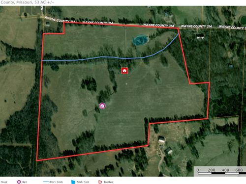 Southeast Missouri Country Home : Patterson : Wayne County : Missouri