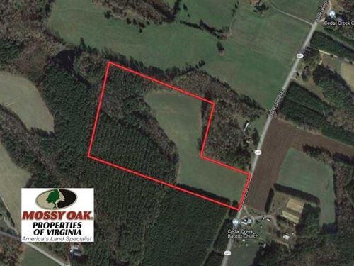 Under Contract, 25 Acres of Recre : Kenbridge : Lunenburg County : Virginia