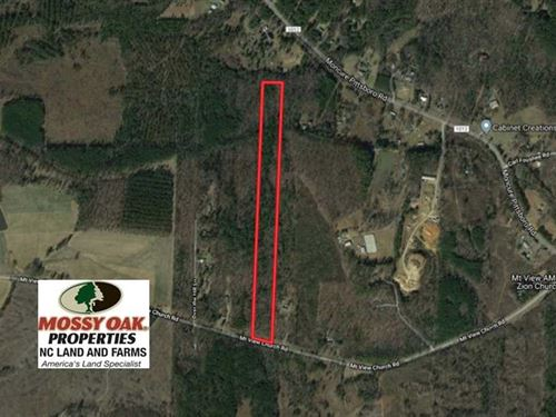 Under Contract, 15 Acres of Reside : Moncure : Chatham County : North Carolina