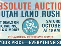 Absolute Auction, Utah Land Rush : Duchesne : Duchesne County : Utah
