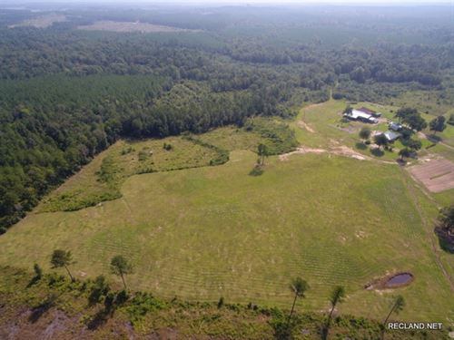 78 Ac, Rural Home Site Potential : Aimwell : Catahoula Parish : Louisiana