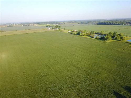 44 Acres of Tillable Property, Oss : Ossian : Wells County : Indiana