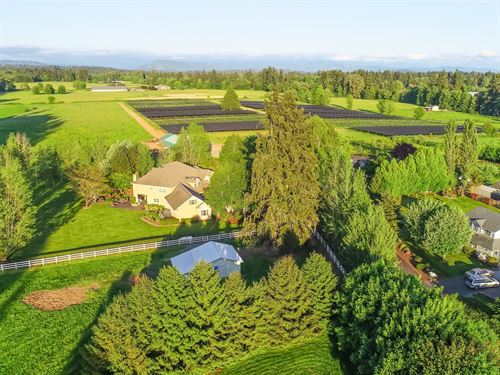 Certified Organic Herb Farm : Lacenter : Clark County : Washington