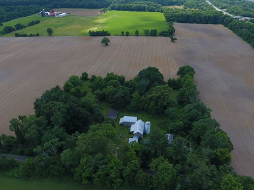 Old Acres Farmstead : Columbus : Burlington County : New Jersey