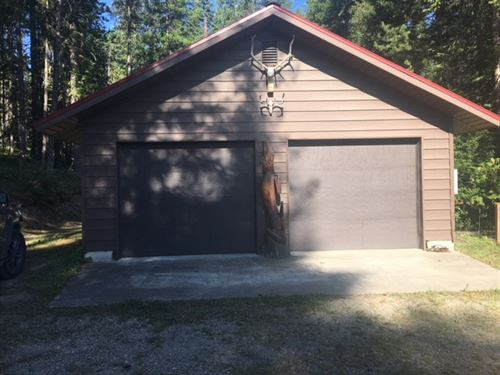 Beaver Peak Retreat : Heron : Sanders County : Montana