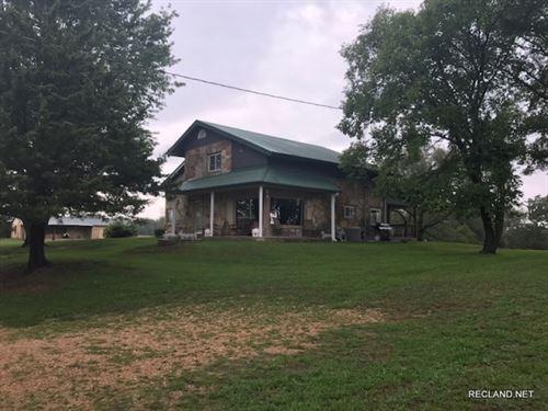 120 Ac, Farm & Home : Cross Timbers : Hickory County : Missouri