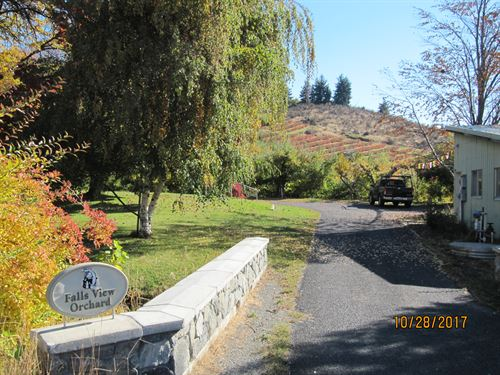 Productive Small Farm, Home & More : Manson : Chelan County : Washington