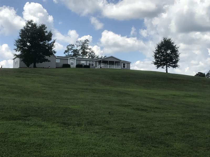Spacious Home With 5+/- Acres : Lineville : Clay County : Alabama