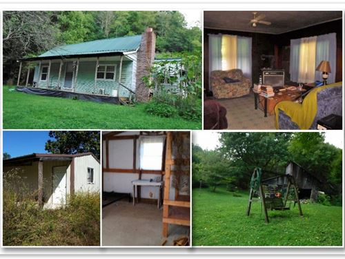 252+ Ac, Home, Pond, Creek, Cabin : Whitleyville : Jackson County : Tennessee