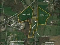3 Farms - From 28 To 44 Acres : New Egypt : Ocean County : New Jersey