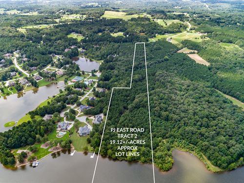 Lakefront Acreage In Walton County : Covington : Walton County : Georgia