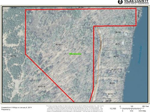 19+ Gorgeous Wooded Acres : Winchester : Vilas County : Wisconsin