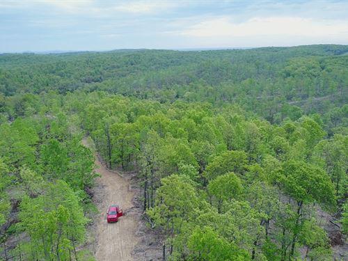 8 Acres With Views Near Ava Mo : Ava : Douglas County : Missouri