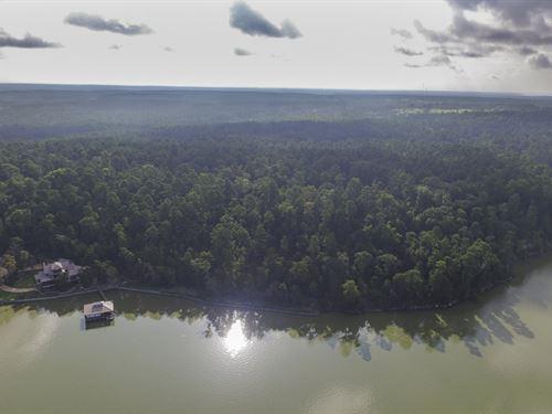 105 Acres Lakefront : Trinity : Texas