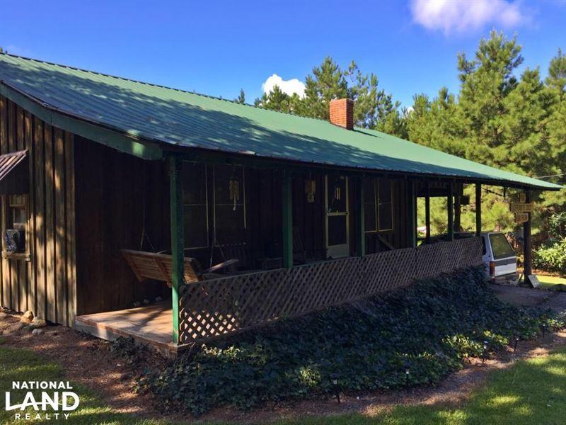 Bladon Springs Camp Lake & Timber : Bladon Springs : Washington County : Alabama