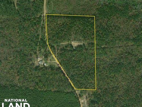 Taylor Springs Road Homesite/Huntin : Beaverton : Lamar County : Alabama