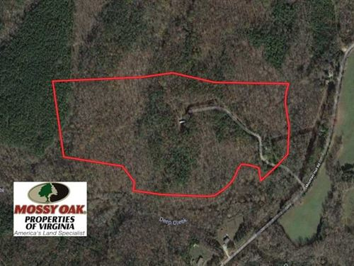 54 Acres of Recreational Hunting : Crewe : Nottoway County : Virginia