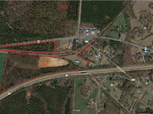 Industrial Zoned Acreage : Mooresboro : Cleveland County : North Carolina