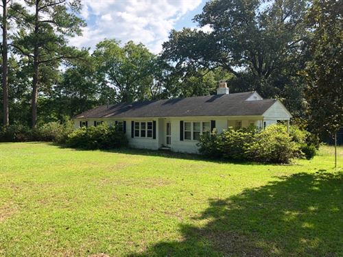 South Carolina Country Home Acreage : Wallace : Marlboro County : South Carolina