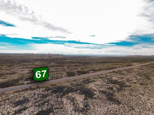 20.91 Acres In Fort Stockton, TX : Fort Stockton : Pecos County : Texas