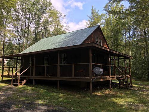 10 +/- Acres, Perfect Cabin : Benton : Lycoming County : Pennsylvania