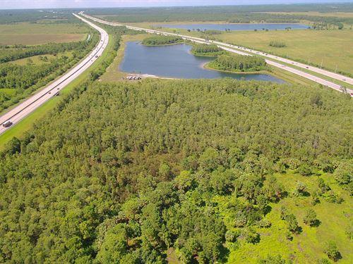 Super-Prime Acreage Off I-95 : Hobe Sound : Martin County : Florida