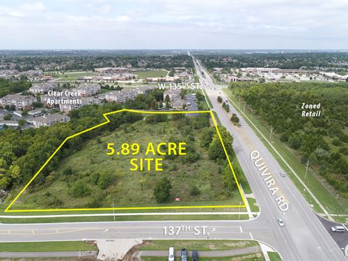 Prime Development Land Auction : Overland Park : Johnson County : Kansas