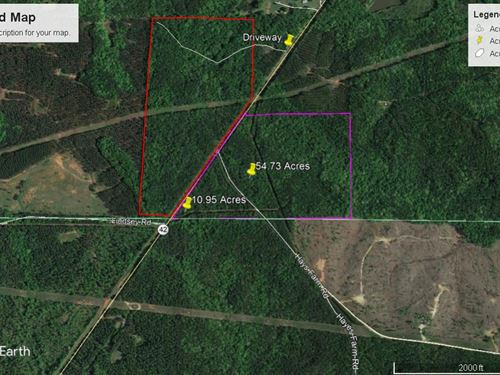 10.95 Acres Monroe County : Culloden : Monroe County : Georgia