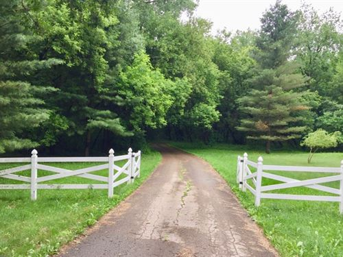 Secluded 35 Acre Wooded Retreat : Columbus : Columbia County : Wisconsin