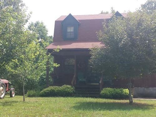 Cabin 5 Acres.9 Miles From Boat : Clinton : Van Buren County : Arkansas