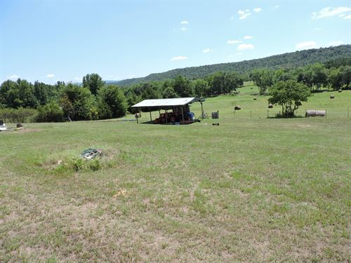 90 Acre Farm With Older Mobile Home : Booneville : Logan County : Arkansas