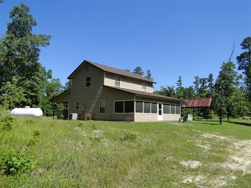 Home With Acreage Arkansas Ozarks : Calico Rock : Izard County : Arkansas