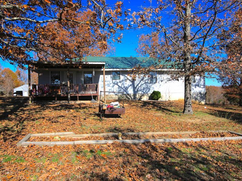 Hobby Farm For Sale in The Ozarks : Camp : Fulton County : Arkansas