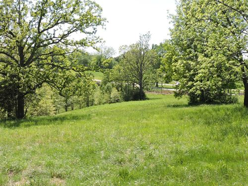 Fenced Pasture Land Crooked Creek : Harrison : Boone County : Arkansas