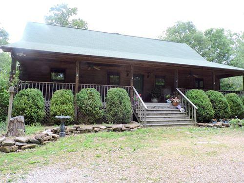 Country Farm Cedar 2 Story Home : Harrison : Boone County : Arkansas