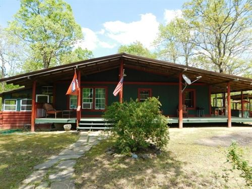 End of The Road Country Home : Mena : Polk County : Arkansas