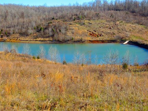 Land Arkansas Lake Spring River : Mammoth Spring : Fulton County : Arkansas
