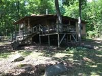 Rustic Cabin Acreage Searcy Co : Marshall : Searcy County : Arkansas