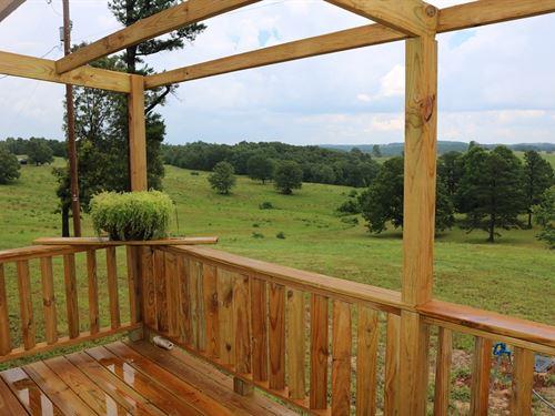 New Home & Acreage Mount Pleasant : Mount Pleasant : Izard County : Arkansas