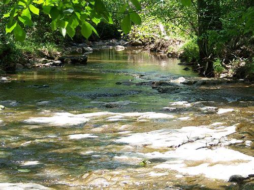 Creek Side 12+ Acre In Pyatt AR : Pyatt : Marion County : Arkansas