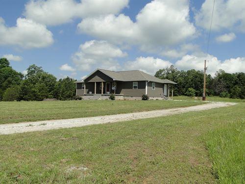 New Home In Violet Hill, Arkansas : Violet Hill : Izard County : Arkansas