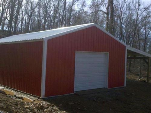 Land Metal Building Wesley, AR : Wesley : Madison County : Arkansas