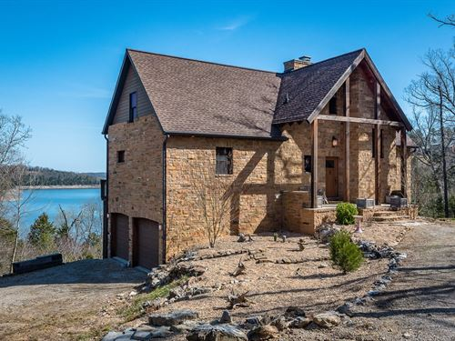Lake Home On Bull Shoals Lake : Yellville : Marion County : Arkansas