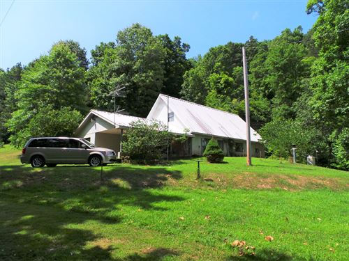 Country Home With Big Spring/Bluff : Yellville : Marion County : Arkansas