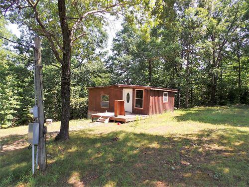Cabin 6 Ac Near Bull Shoals Lake : Yellville : Marion County : Arkansas