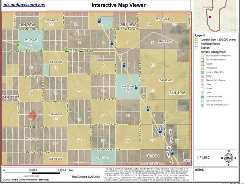 Dolan Springs Arizona Map.5 Acres Dolan Springs Az Gateway Farm For Sale Dolan Springs